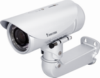 Telecamera IP Vivotek varifocal 2-4mm con LED IR 15mt
